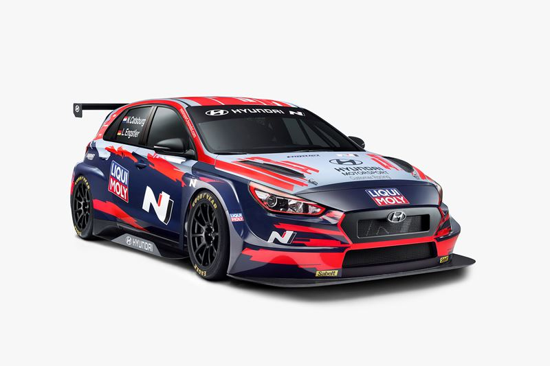 Hyundai Motorsport reveals liveries for i30 N TCR customers' WTCR season